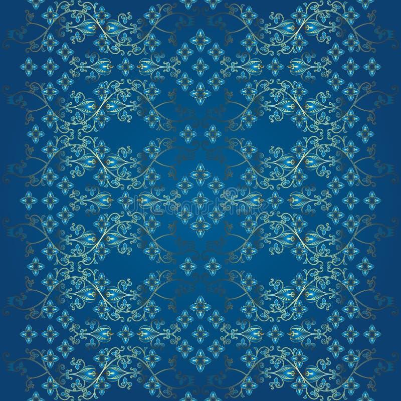 Download Schönes Nahtloses Blumenmuster Vektor Abbildung - Illustration von schönheit, hintergrund: 26370771