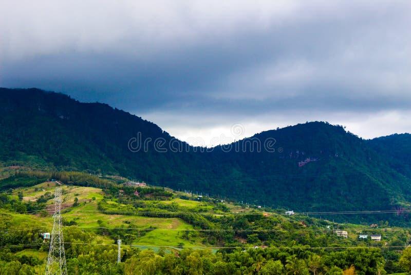 Schönes natürliches Khao Kho stockfoto