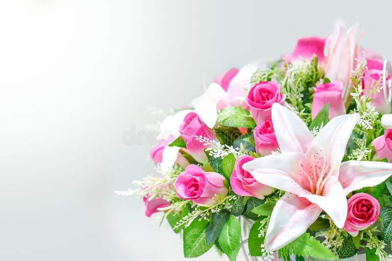 Schönes neues Rosenbuschdetail stockbilder