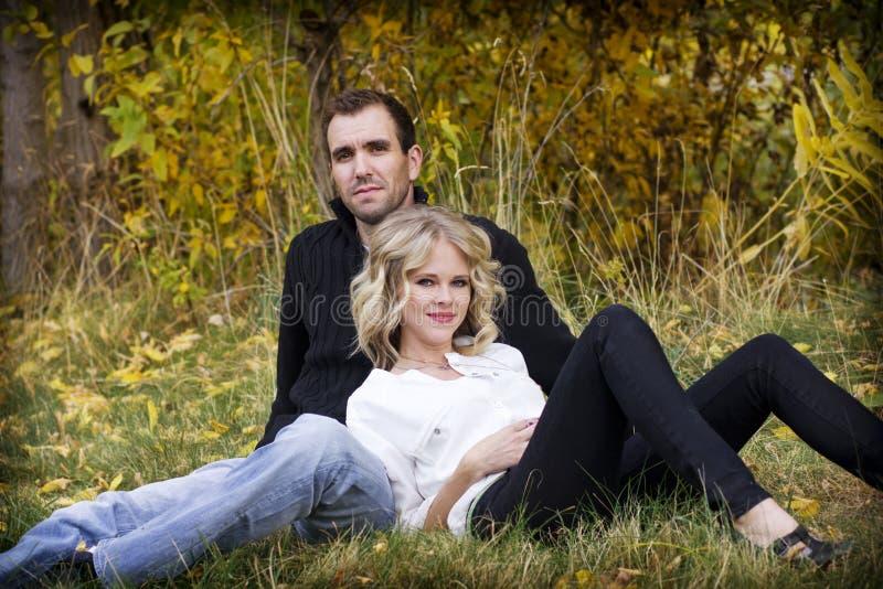 Schönes Paar-Portrait lizenzfreies stockbild