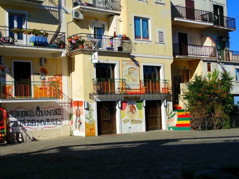 Schönes painty Haus stockfoto