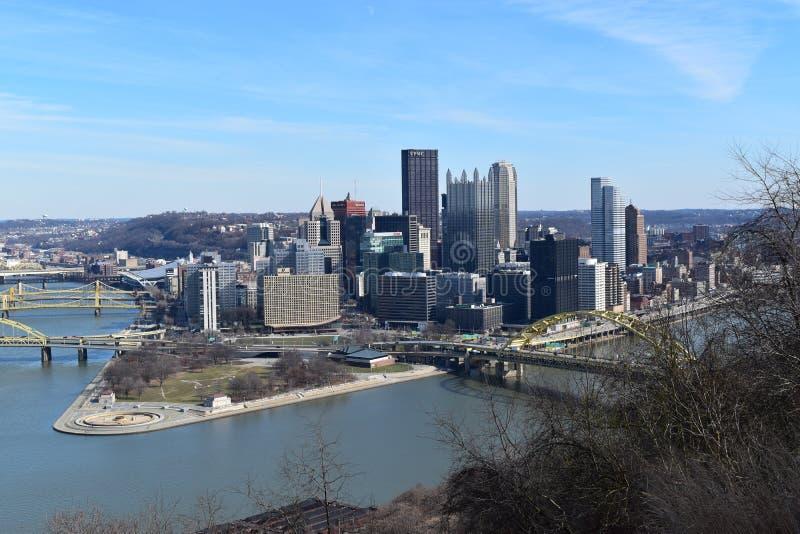Schönes Pittsburgh, Pennsylvania lizenzfreie stockfotos