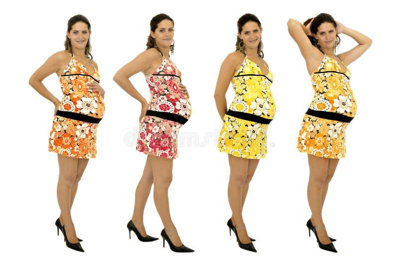 Schönes schwangeres lizenzfreies stockfoto