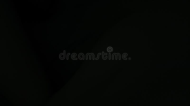 Schönes schwarzes gewelltes Gewebe, computererzeugter Hintergrund, Wiedergabe 3d lizenzfreie abbildung