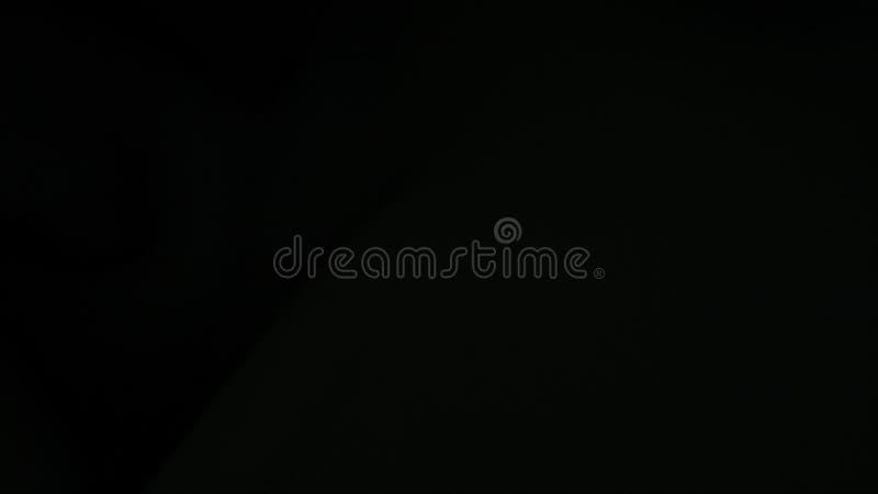 Schönes schwarzes gewelltes Gewebe, computererzeugter Hintergrund, Wiedergabe 3d stock abbildung