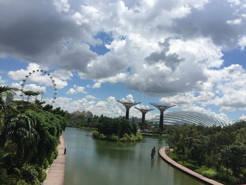Schönes Singapur stockfoto