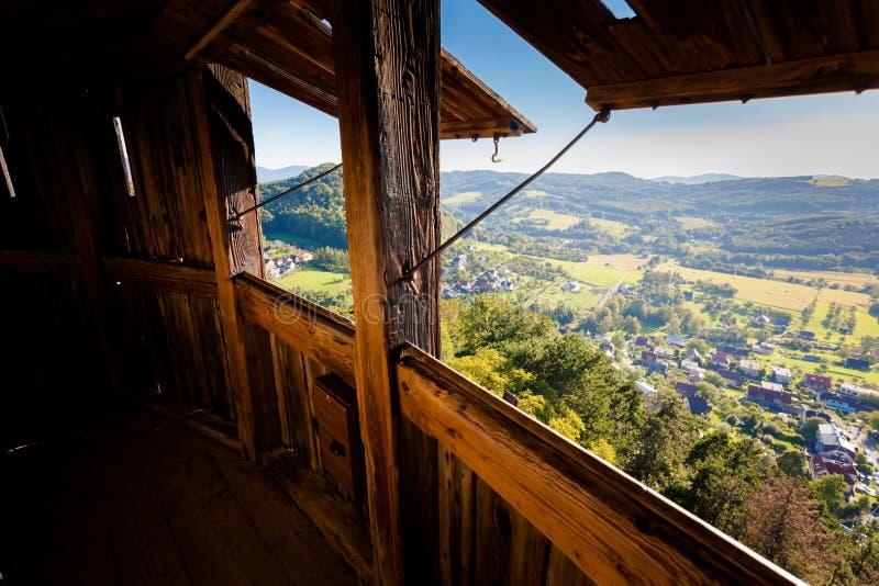 Schönes Stramberk in der Tschechischen Republik lizenzfreies stockfoto