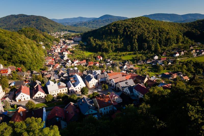 Schönes Stramberk in der Tschechischen Republik lizenzfreie stockfotografie
