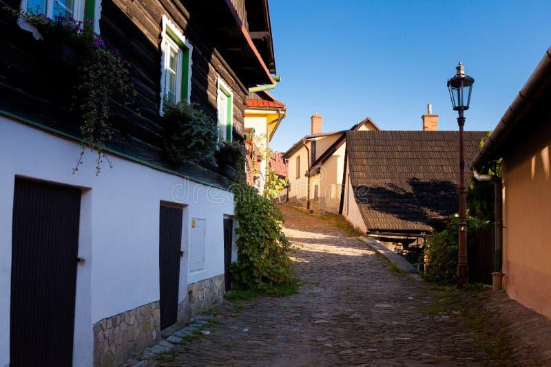 Schönes Stramberk in der Tschechischen Republik lizenzfreie stockfotos