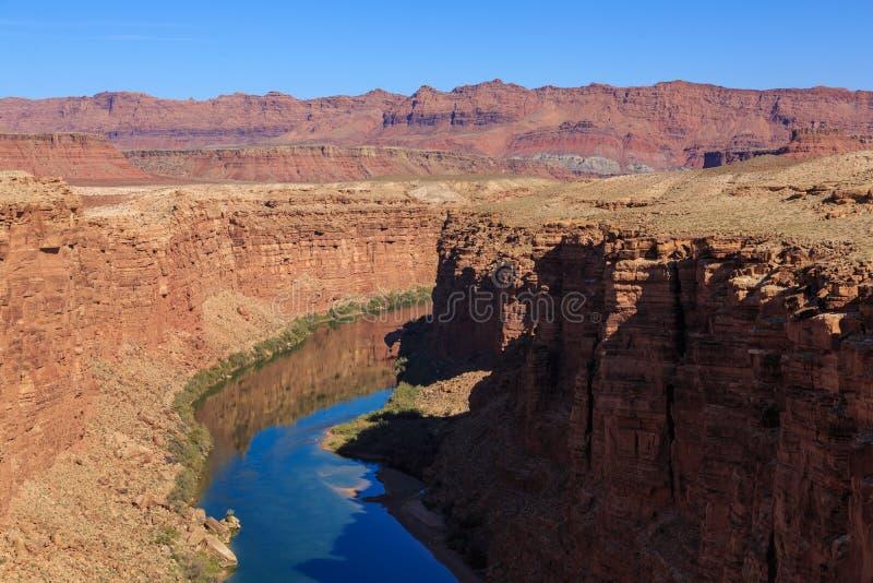 Schönes szenisches Schluchtschluchterholungsgebiet bei Arizona, US stockbilder