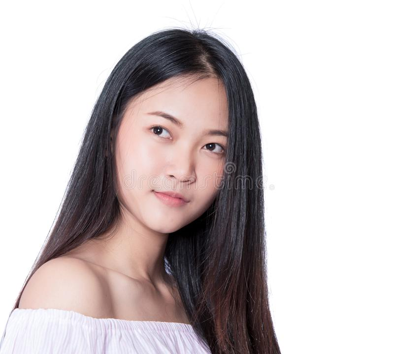 Schönes thailändisches Modell stockfoto