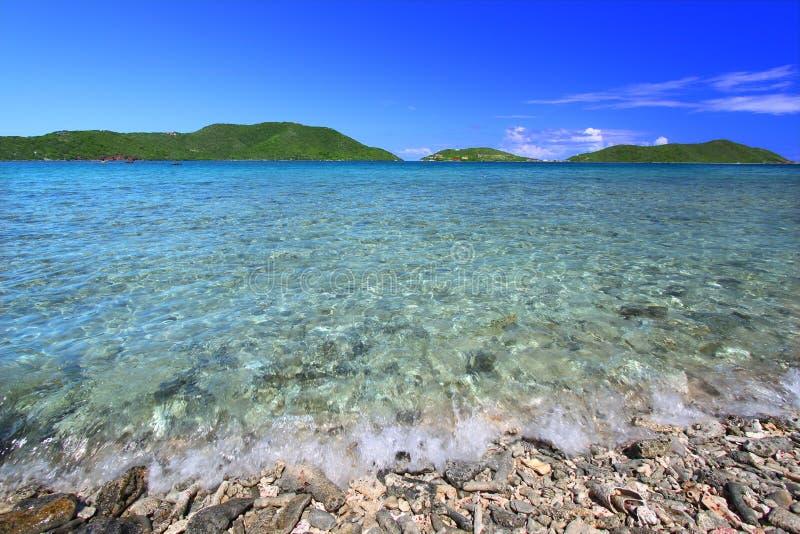 Schönes Tortola (BVI) stockfoto