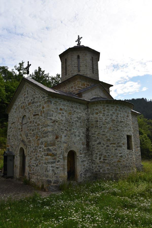 Schönes und erstaunliches Kloster Gorcince lizenzfreie stockbilder