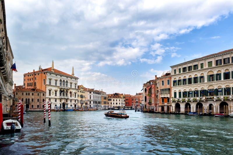 Schönes Venedig, Grand Canal lizenzfreies stockbild