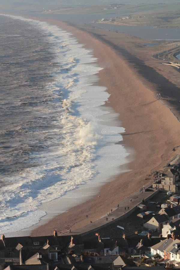 Schönes verärgertes Meer lizenzfreies stockfoto