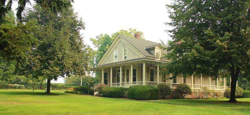 Schönes viktorianisches Haus stockbild