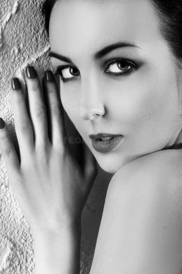 Schönes weibliches Portrait lizenzfreie stockfotografie