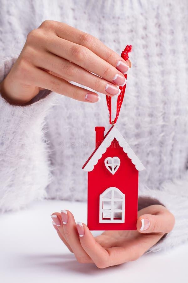 Schönes Weihnachtsspielzeug lizenzfreies stockbild