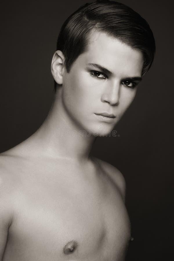 Schönheit der Männer stockbilder