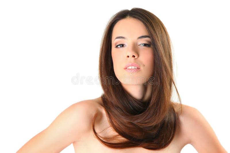 Schönheit des Haares lizenzfreie stockfotos