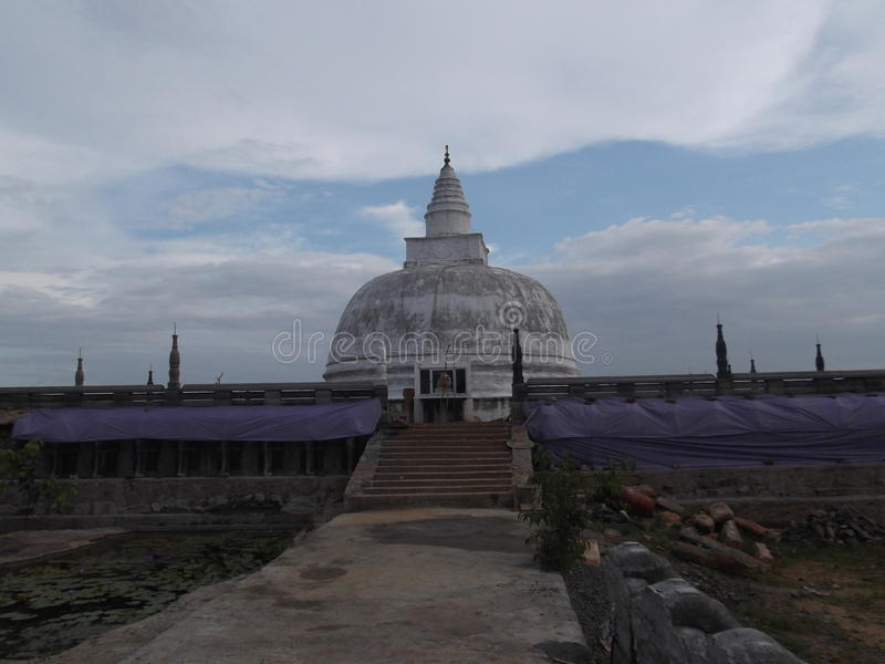 Schönheit des Tempels stockbild
