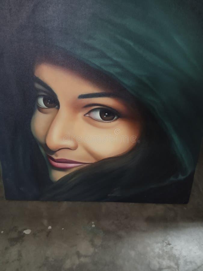 Schönheit eines Mädchens stockbilder