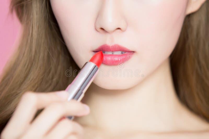 Schönheit skincare Frau lizenzfreie stockfotografie