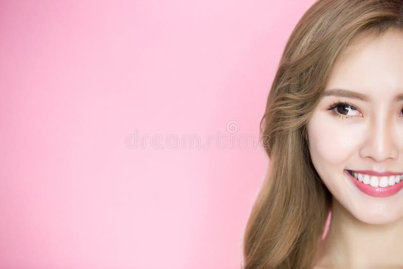 Schönheit skincare Frau stockfotos