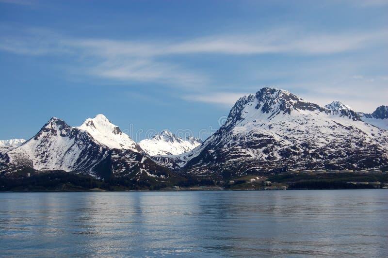 Schönheit von Alaska lizenzfreie stockfotos