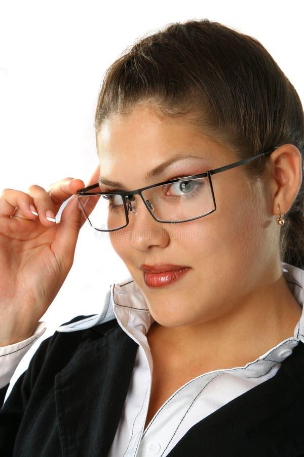 Schönheits-Geschäftsfrau stockbilder