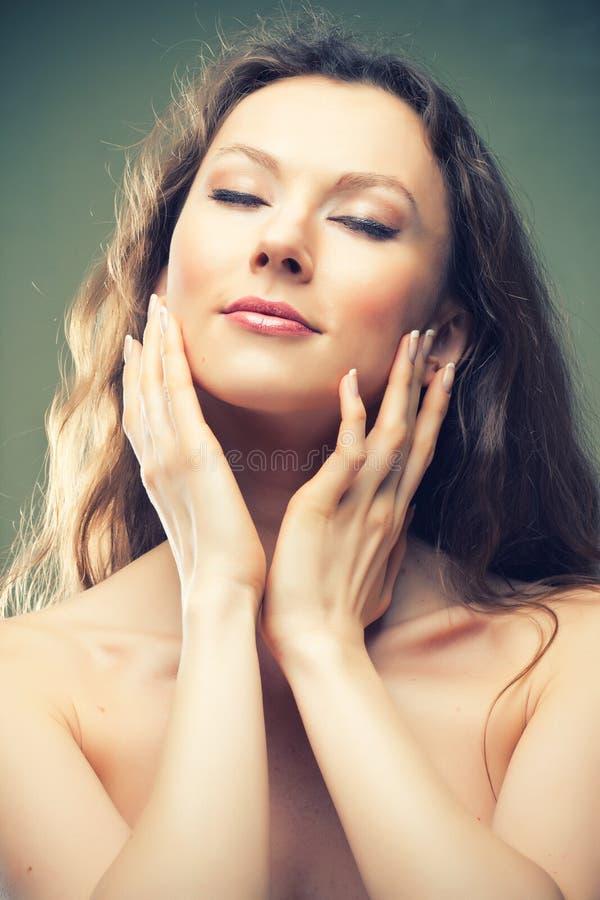 Schönheits-Hautpflege stockbilder