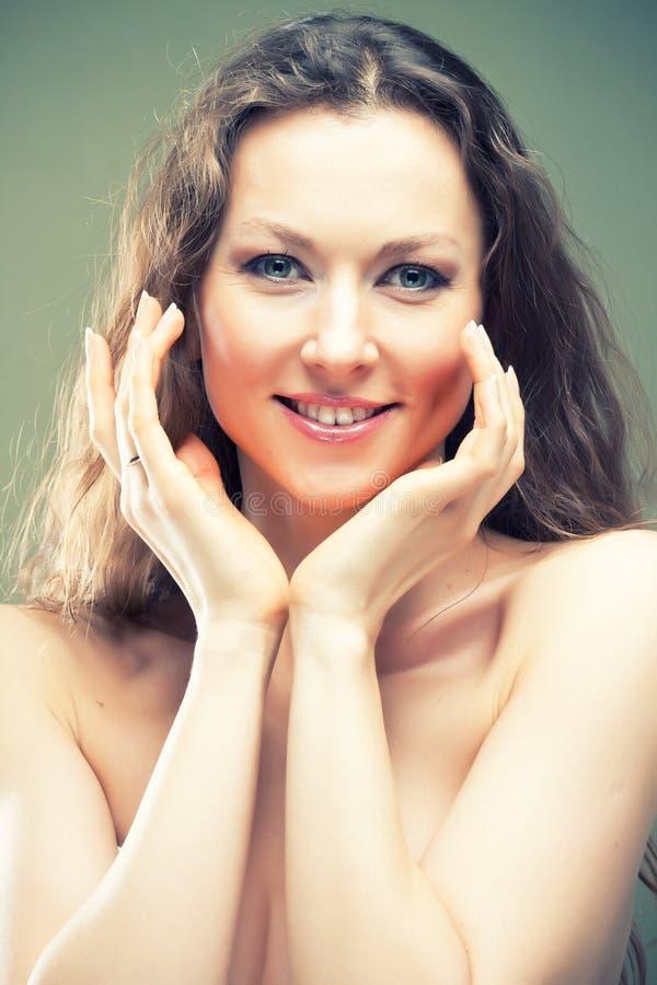 Schönheits-Hautpflege stockfotos