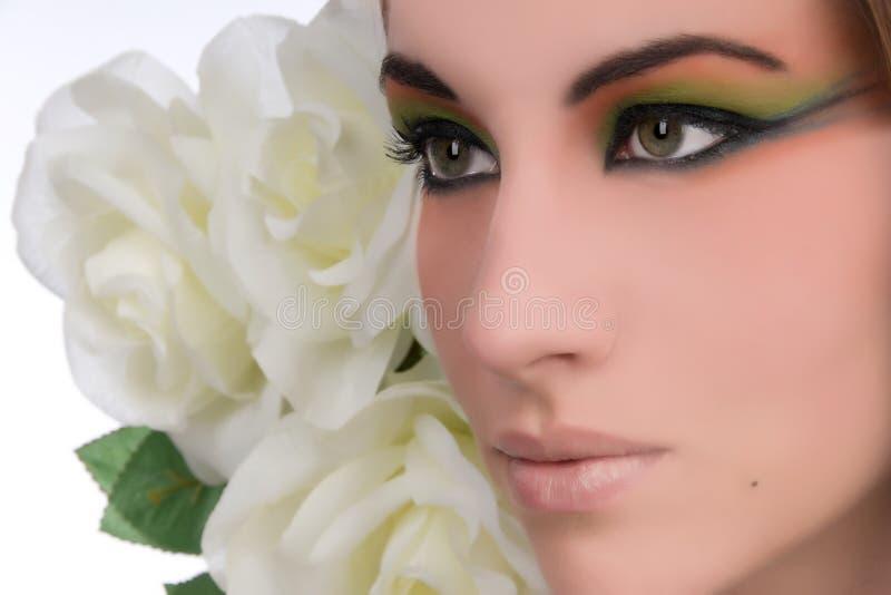 Schönheits-Nahaufnahme lizenzfreie stockbilder