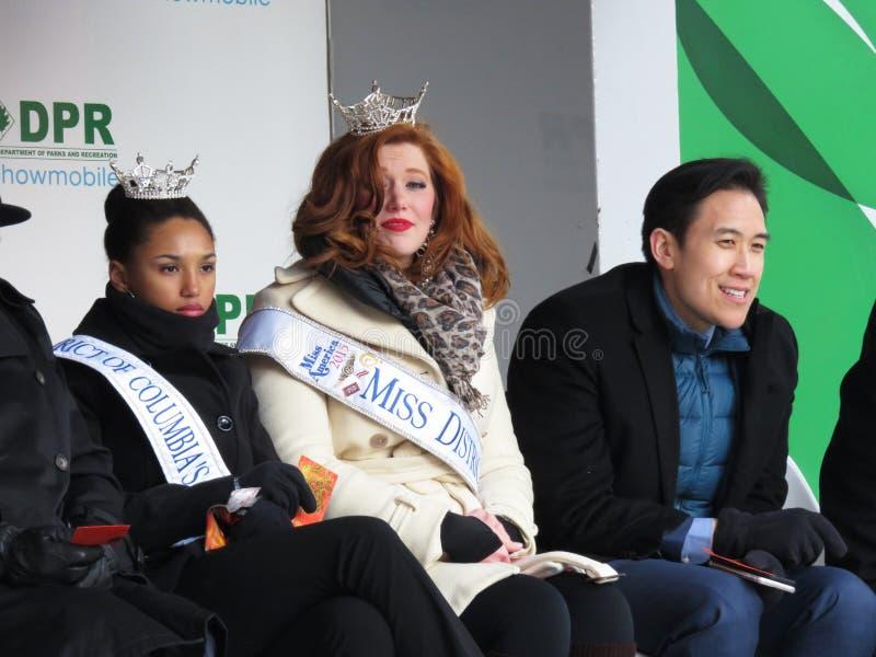 Schönheits-Queens des Chinesischen Neujahrsfests stockfotografie