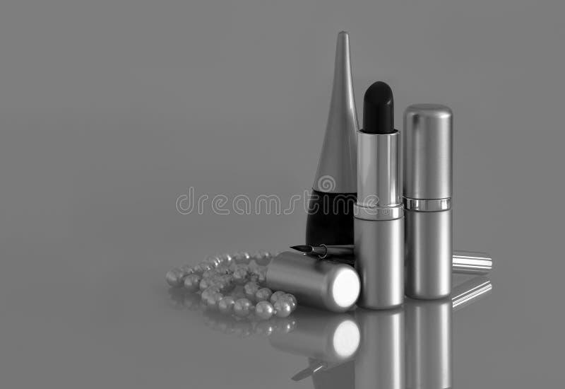 Schönheits-Zubehör lizenzfreie stockfotografie