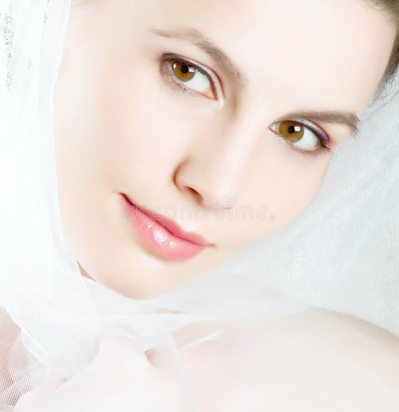 Schönheitsgesicht lizenzfreie stockbilder