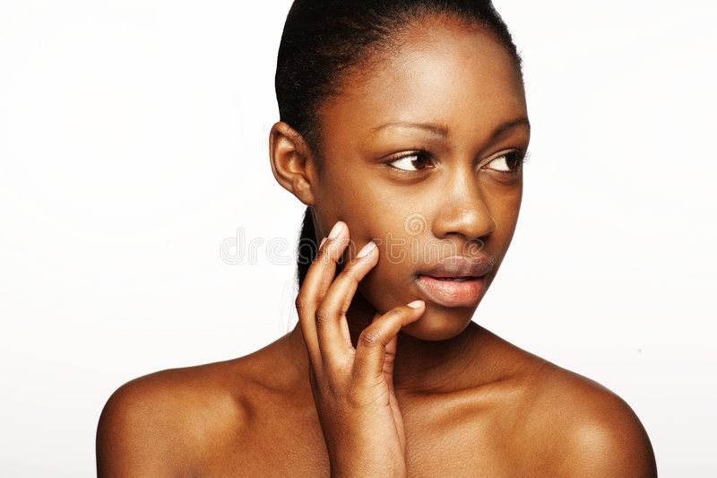 Schönheitshaut stockbild