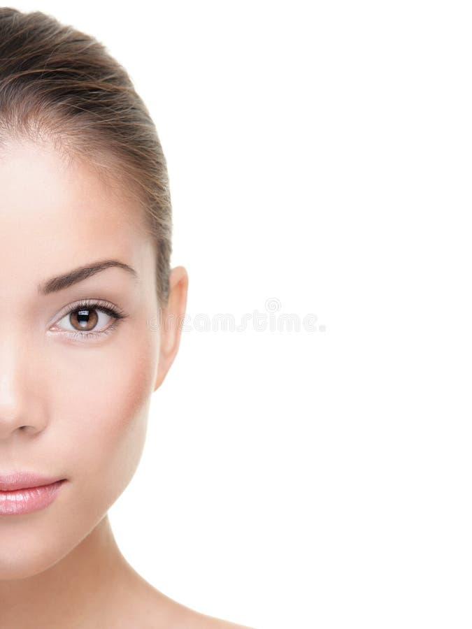 Schönheitshautsorgfalt stockfotos