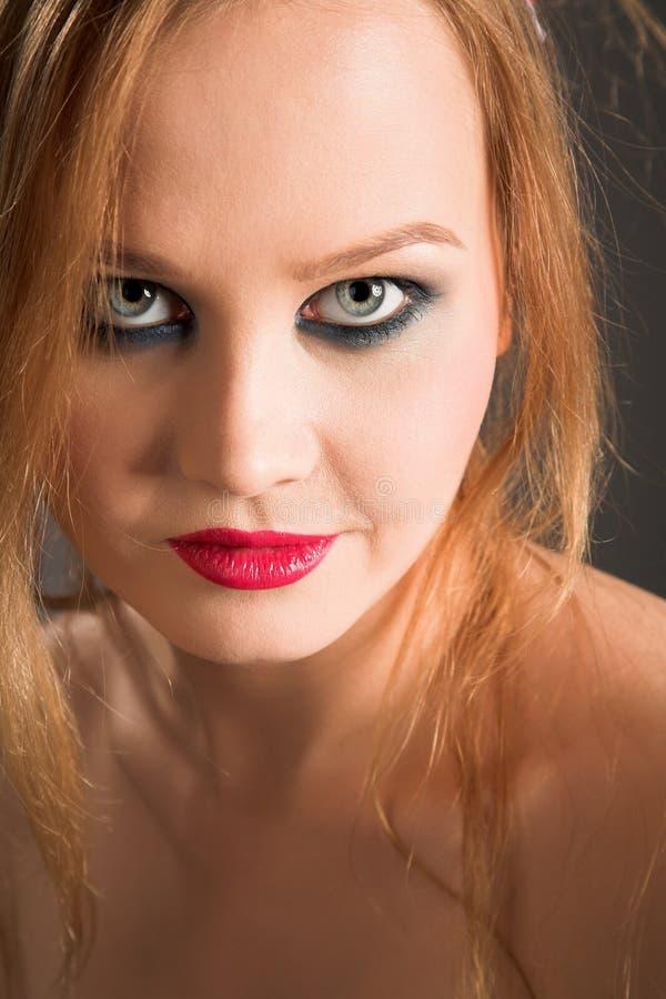Schönheitsmädchen lizenzfreie stockfotos