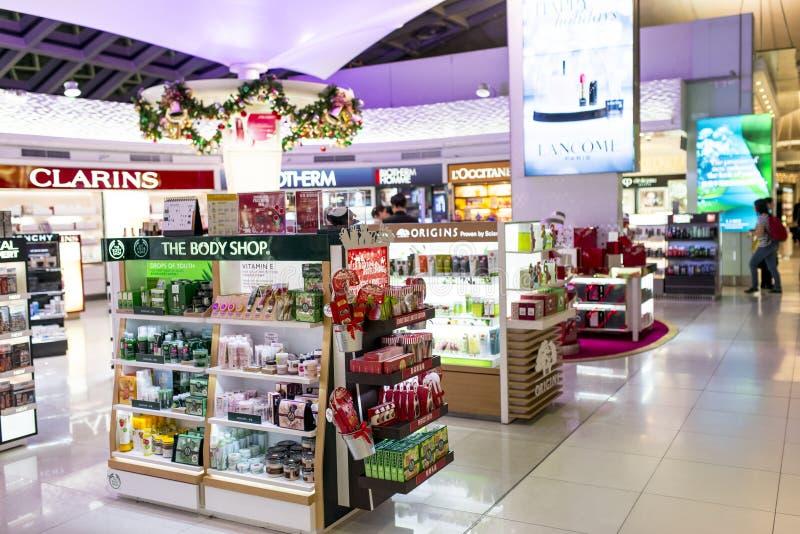 Schönheitspflege-Shop stockfotografie