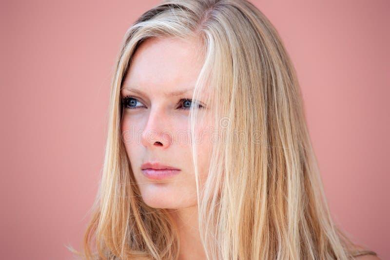 Download Schönheitsportrait Einer Blonden Frau Stockfoto - Bild von kaukasisch, nett: 26350140