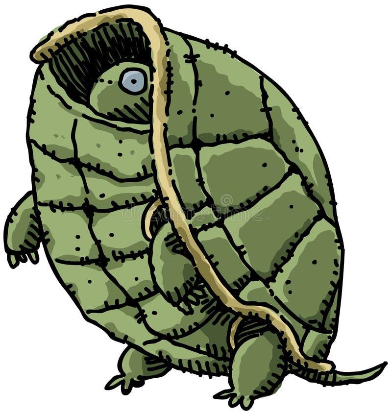 Schüchterne Schildkröte
