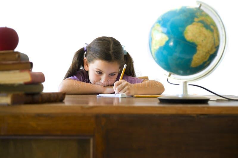 Schülerin stockfoto