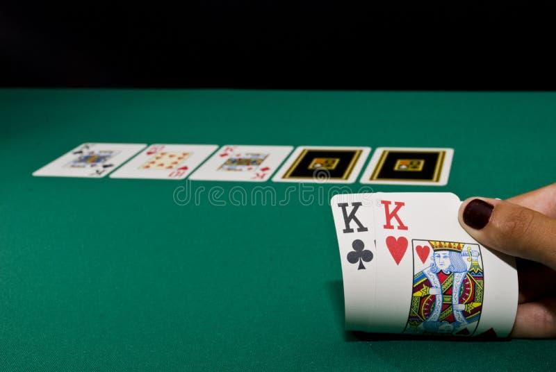 Schürhaken-Spiel stockfoto