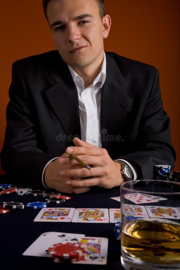 Schürhakenspieler 2 lizenzfreie stockbilder