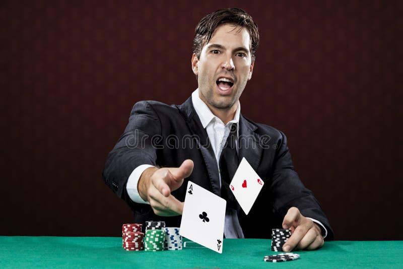 Schürhakenspieler stockfoto