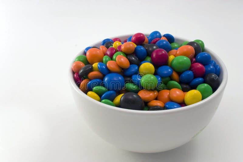 Schüssel der Süßigkeit lizenzfreie stockfotos