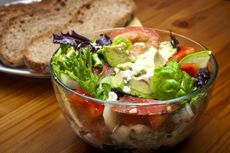 Schüssel Salat lizenzfreies stockfoto