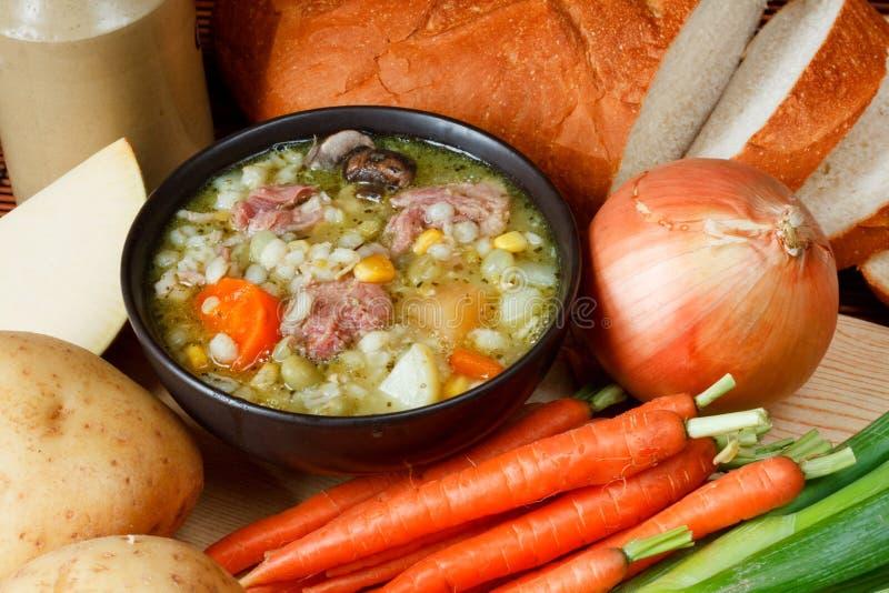 Download Schüssel Selbst Gemachte Suppe Stockbild - Bild von karotte, gesund: 26355209