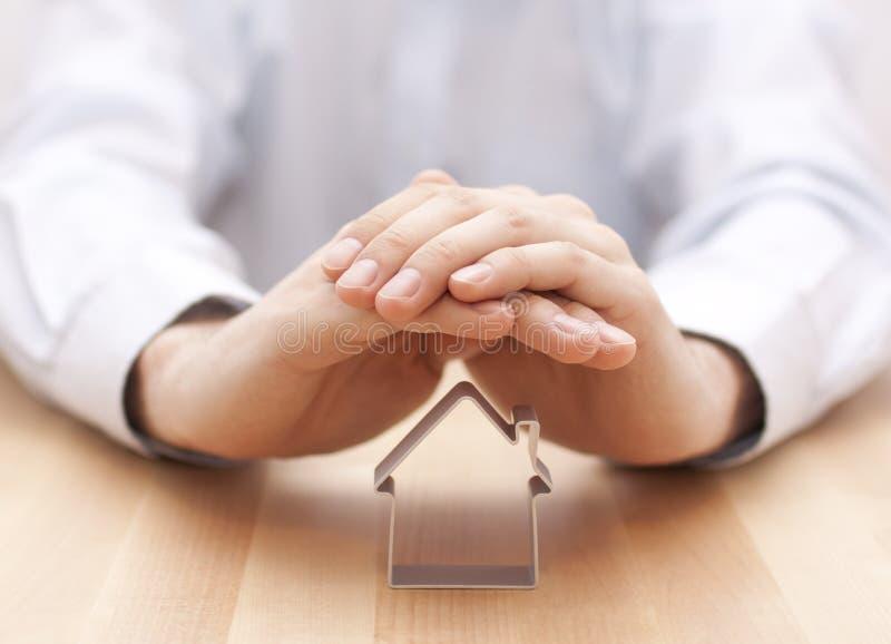 Schützen Sie Ihr Haus stockbilder